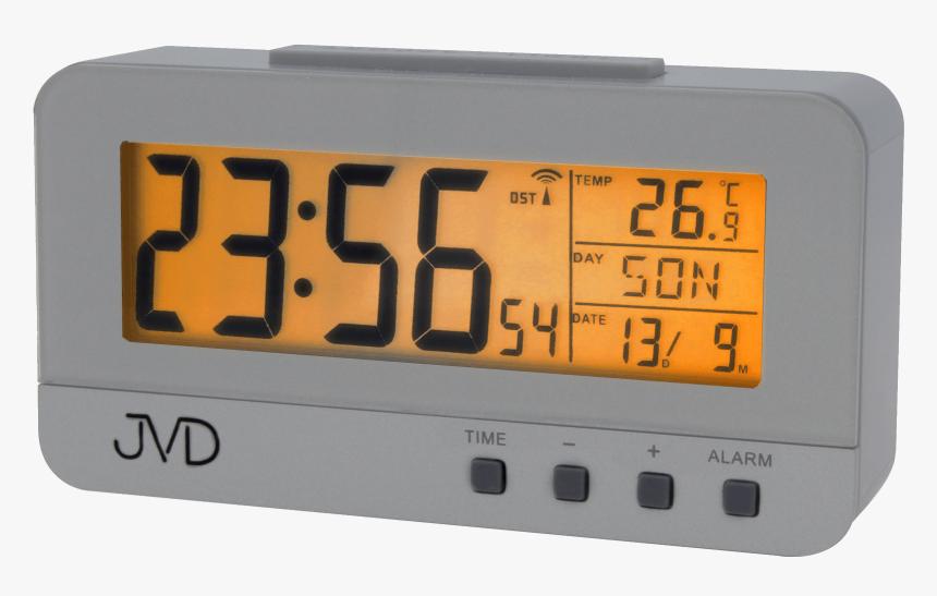 Radio Controlled Digital Alarm Clock Jvd Rb91 - Radio Clock, HD Png Download, Free Download