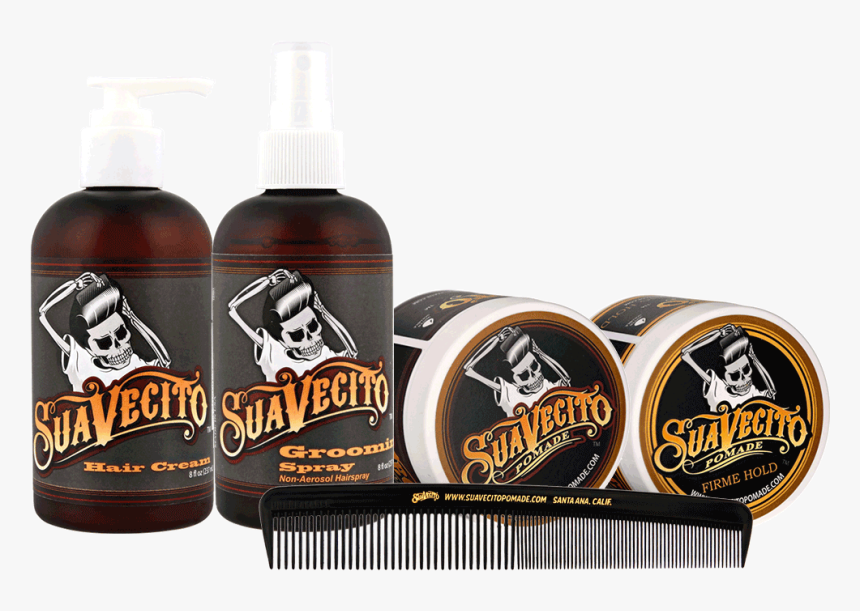 """Suavecito Men""""s Hair Styling Kit - Hairstyle, HD Png Download, Free Download"""