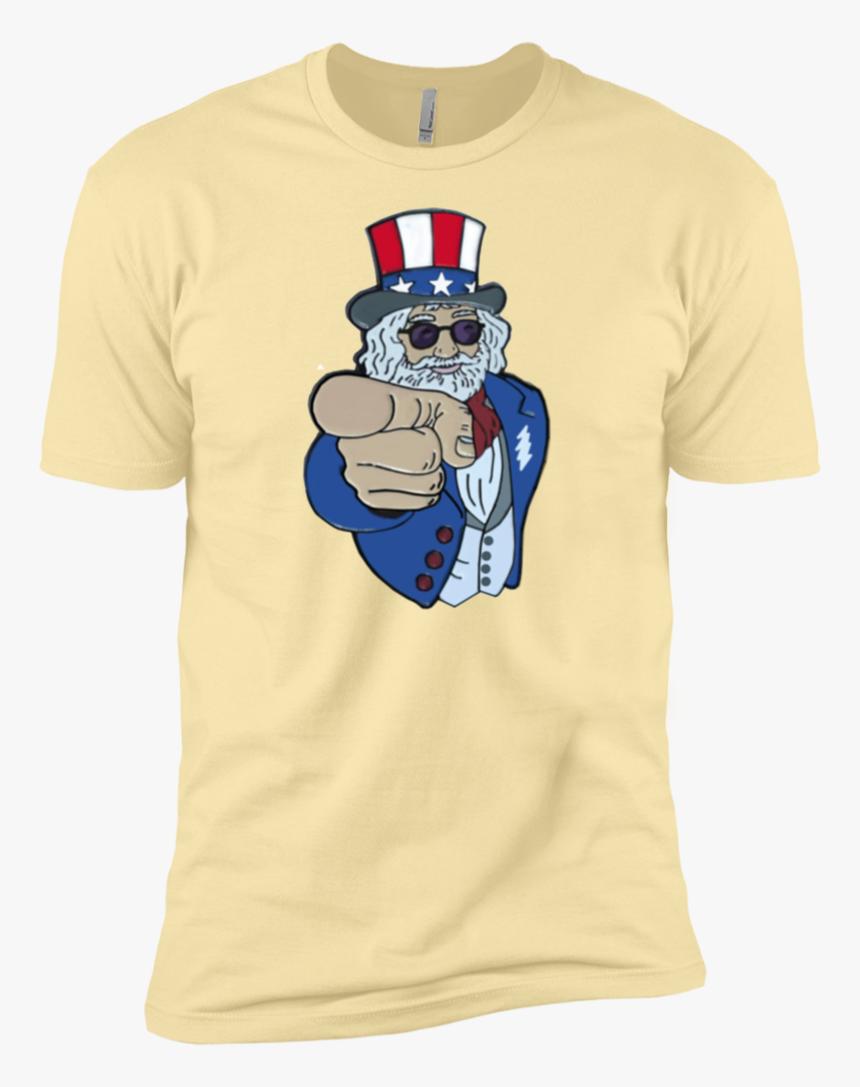 Uncle Wants You Premium Cotton T-shirt - Shirt, HD Png Download, Free Download