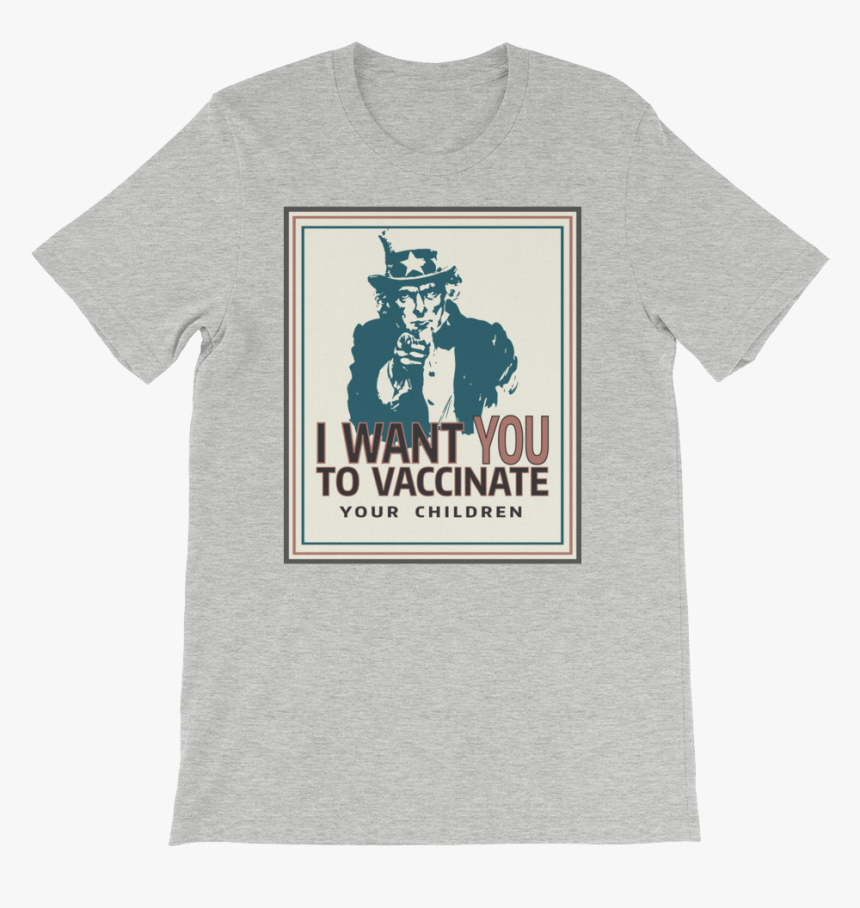 I Want You To Vaccinate Your Children Uncle Sam Shirt - Knit Socks For Soldiers, HD Png Download, Free Download