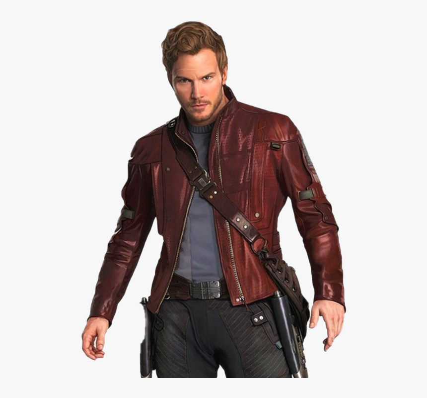 Chris Pratt Star-lord Free Png Image - Guardians Of The Galaxy Star Lord Jacket, Transparent Png, Free Download