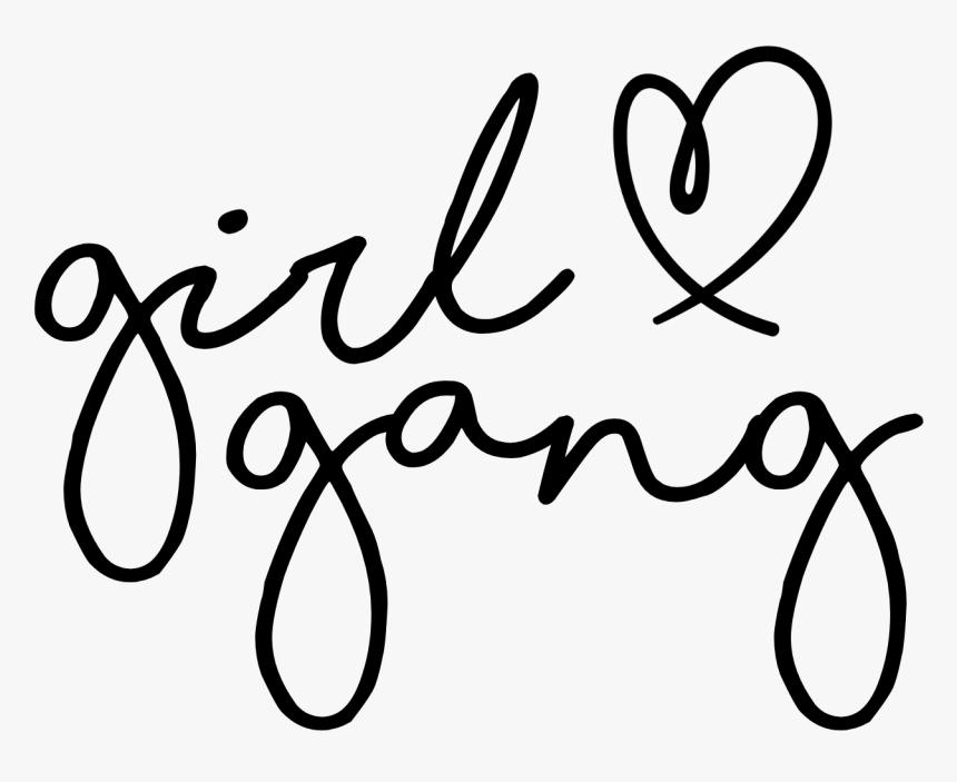 Transparent Gang Png - Girl Gang Svg, Png Download, Free Download