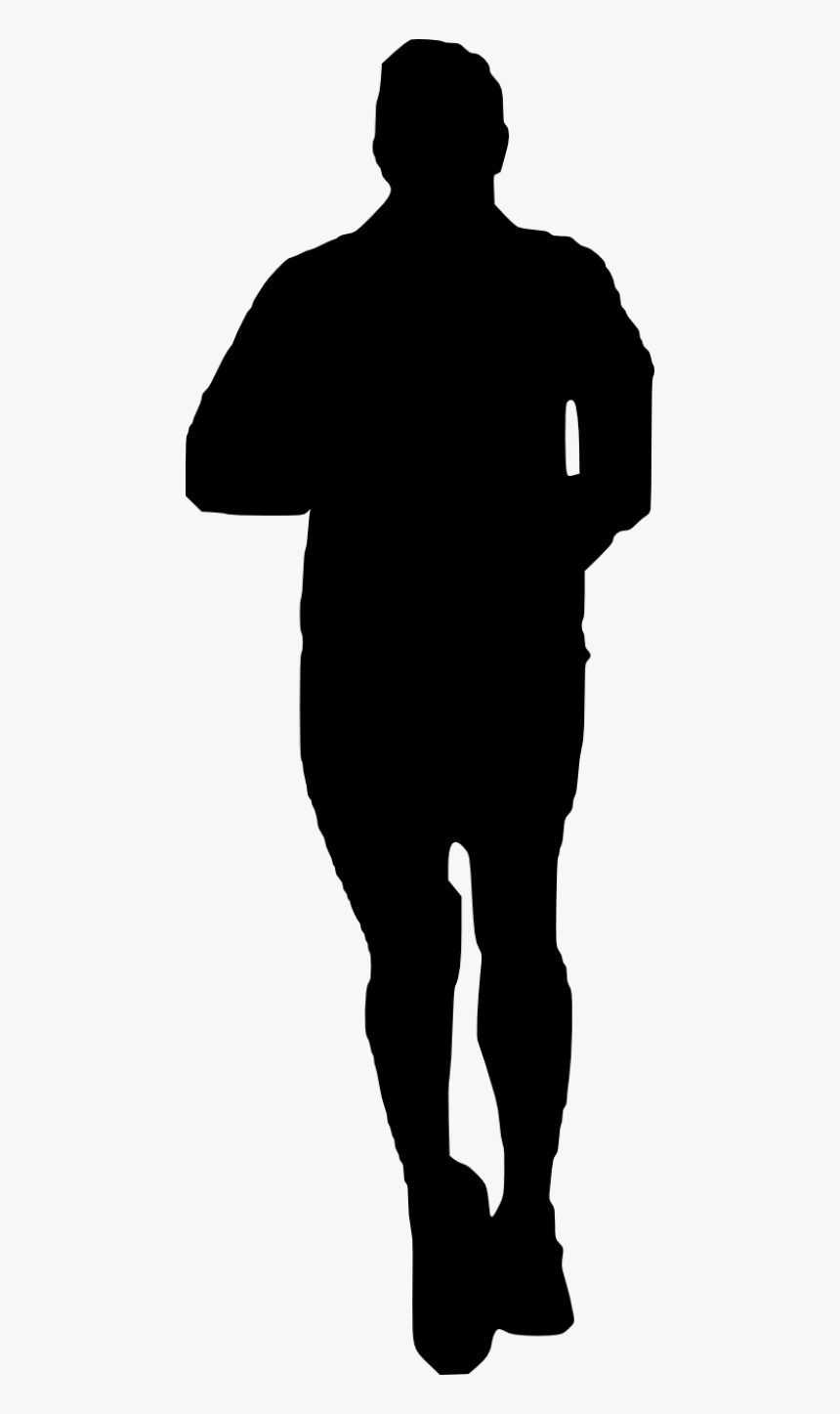 Free Png Man Running Silhouette Png Images Transparent - Png Woman Head Silhouette, Png Download, Free Download