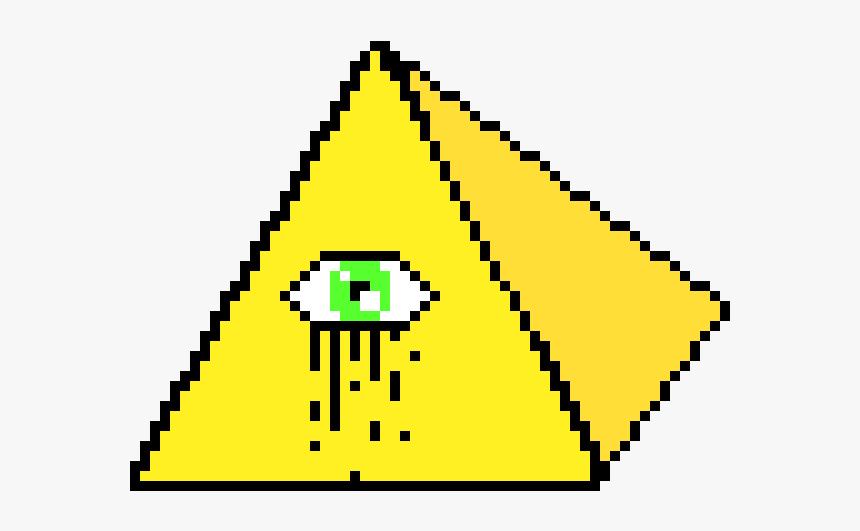 Illuminati Eye Png - All Seeing Eye Pixel, Transparent Png, Free Download