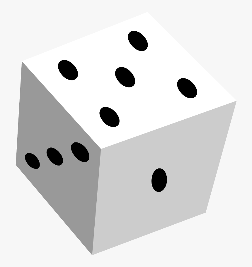 Dice Clipart , Png Download - Probability Dice, Transparent Png, Free Download