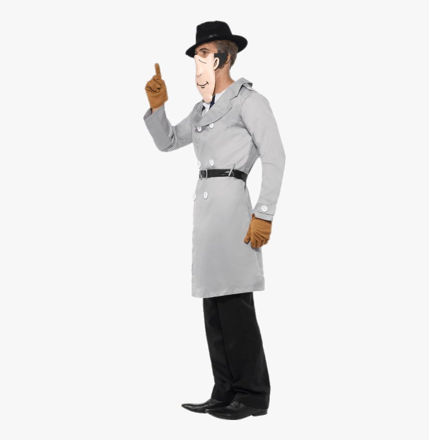 Inspector Gadget Costume - Inspector Gadget Without Hat, HD Png Download, Free Download