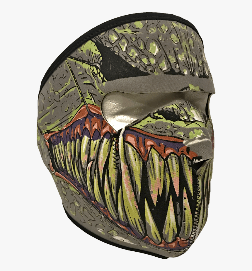 """Neoprene Monster Mask""""  Class= - Face Mask, HD Png Download, Free Download"""
