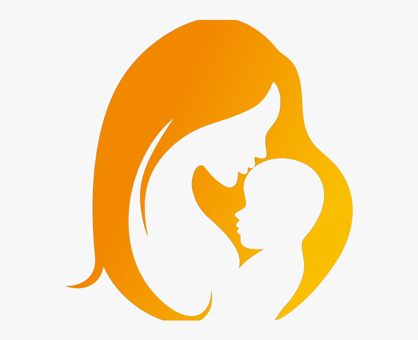 Mother Baby Silhouette Clipart Png Download Mother And Child Silhouette Transparent Png Kindpng