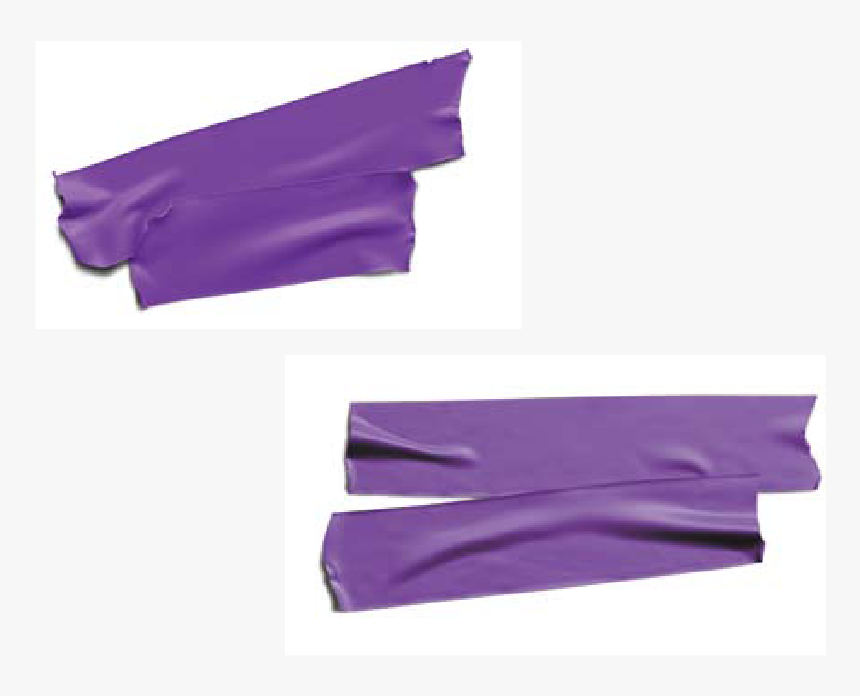 Purple Tape Png , Png Download - Transparent Strip Of Tape, Png Download, Free Download