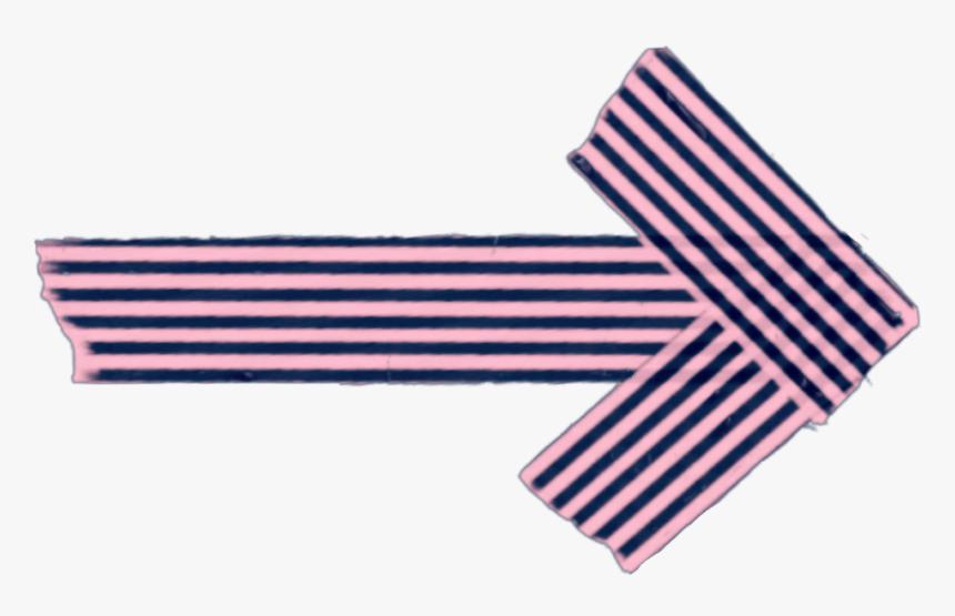 #tape #strip #blackandpink #arrow #scrapbooking #kpop - Pelotonia Arrow Pelotonia Logo, HD Png Download, Free Download