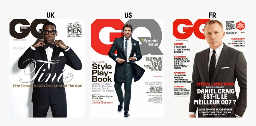 Gq Magazine Cover Template - Transparent Gq Magazine Cover Template, HD Png Download, Free Download