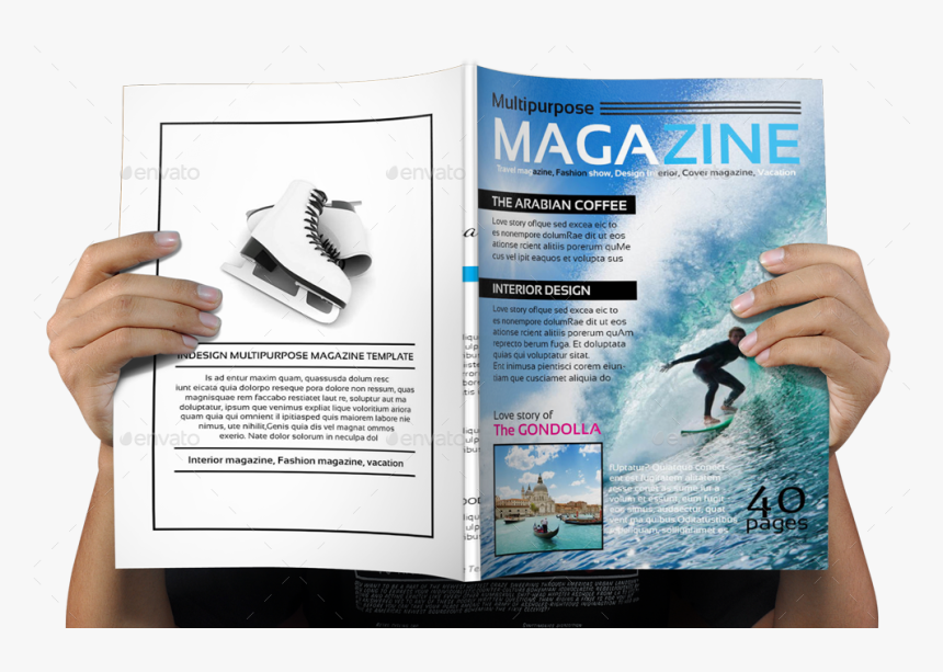 Magazine Back Cover Png, Transparent Png, Free Download