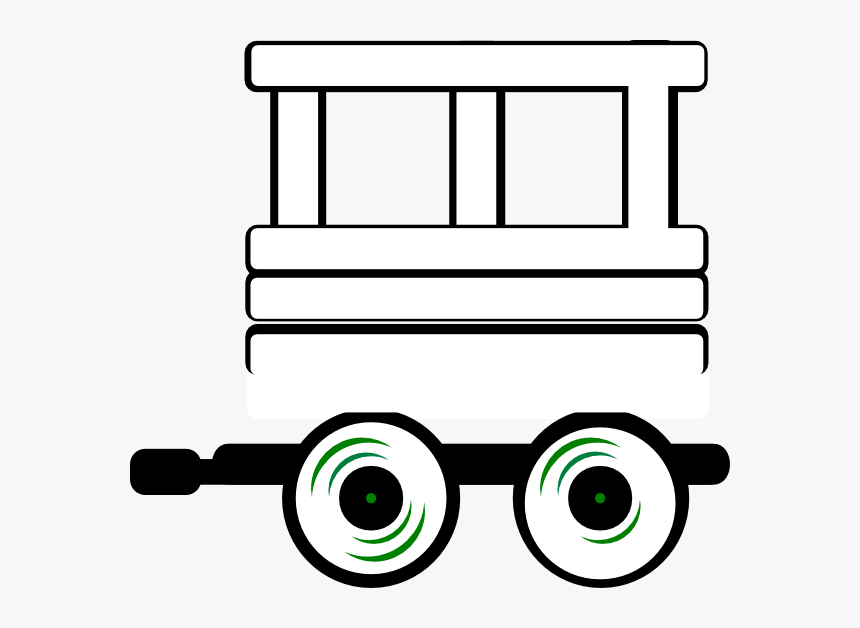 Train Caboose Clipart Black And White Cliparts Others - Train Bogie Clipart Black And White, HD Png Download, Free Download