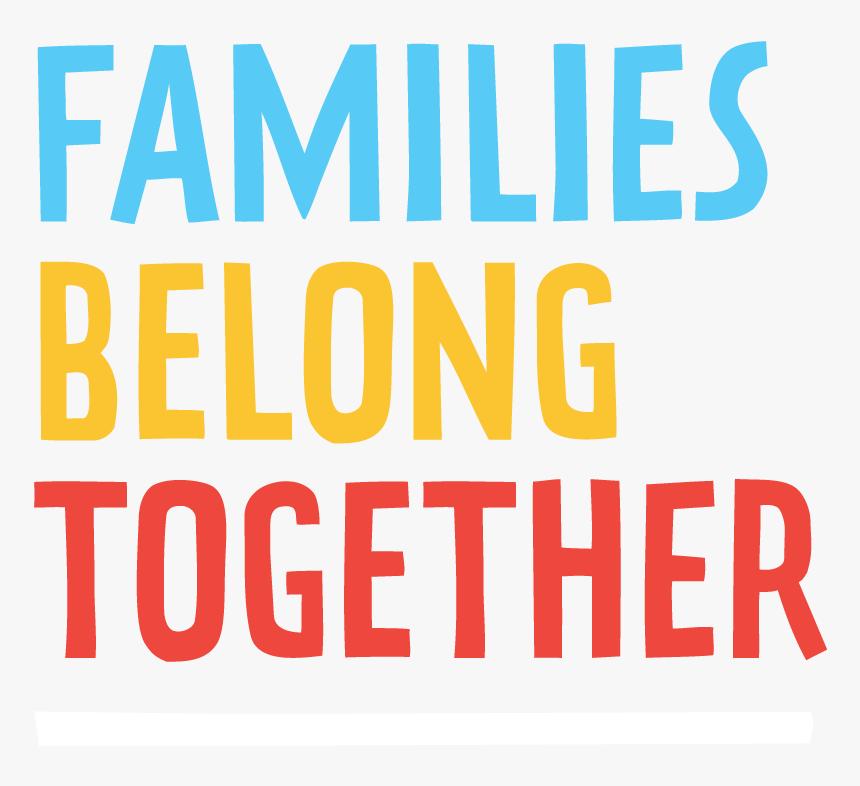 Ndwa - Families Belong Together Logo, HD Png Download, Free Download