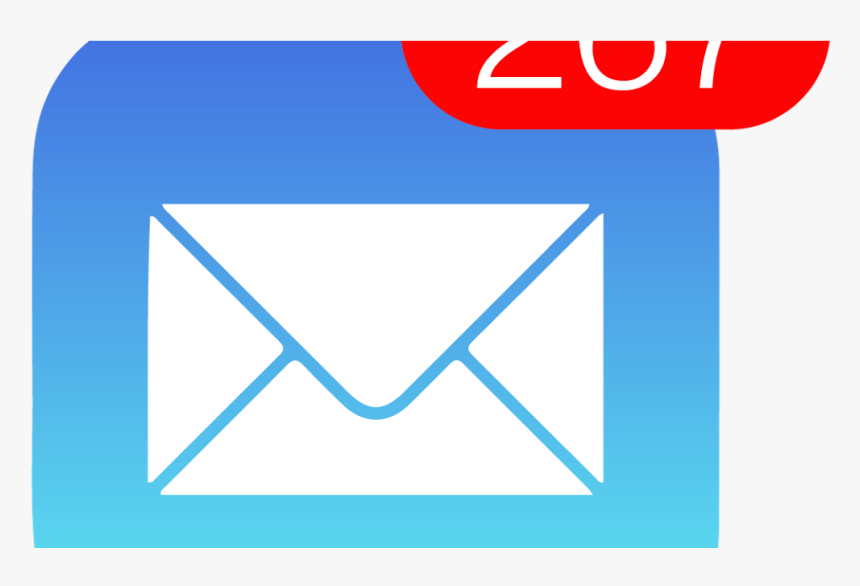 Inbox Logo, Hd Png Download - Iphone Email Icon Png, Transparent Png, Free Download