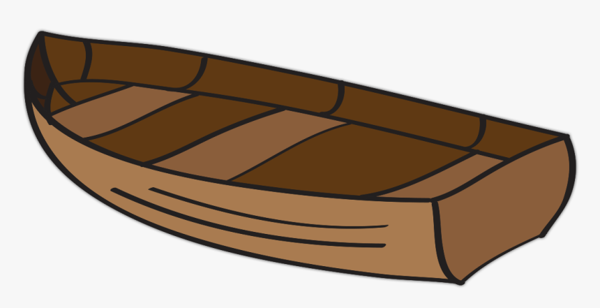 Transparent Canoe Clipart - Wooden Boat Clipart Png, Png Download, Free Download