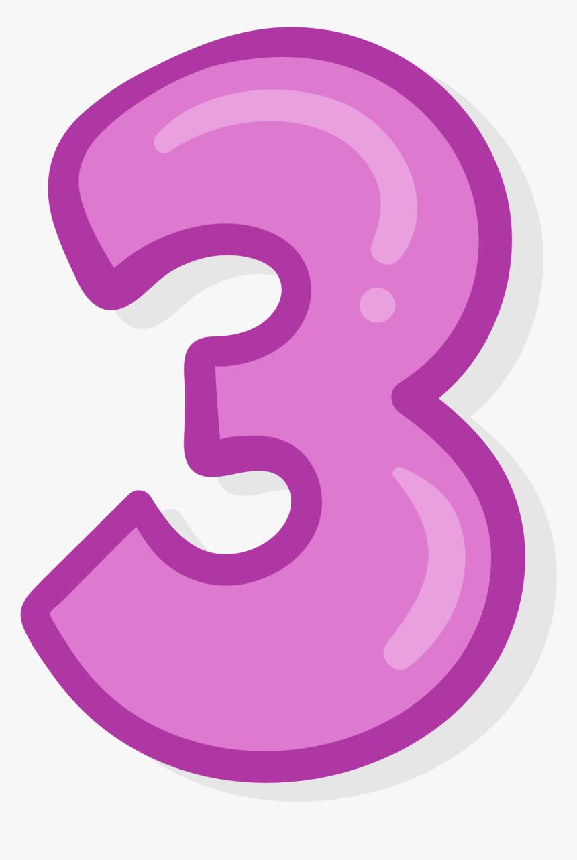 3 Number Png Photo - Purple Number 3 Transparent, Png Download, Free Download