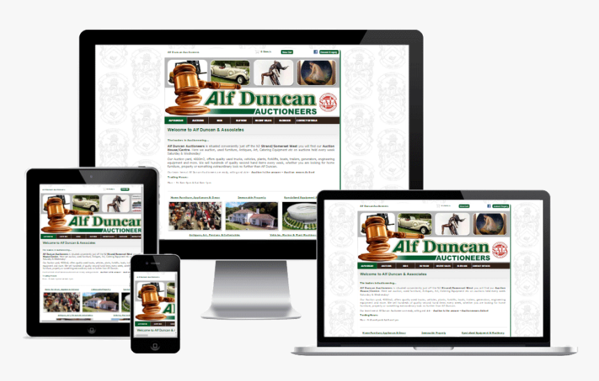 Alf Duncan Auctioneers - Template Blog Anime Responsive, HD Png Download, Free Download