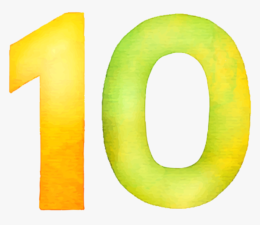 10 Number Png Royalty-free Image - Number 10 No Background, Transparent Png, Free Download