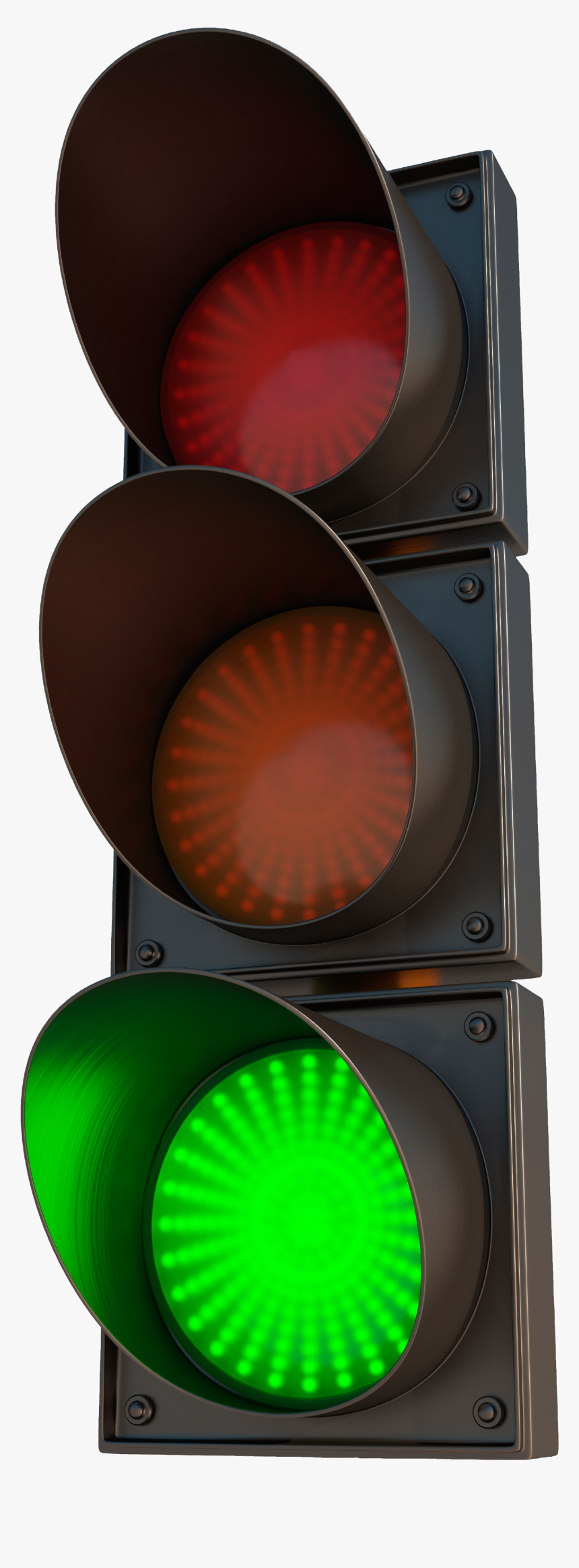 Green Traffic Light Transparent, HD Png Download, Free Download