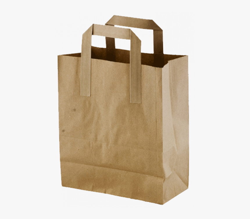 Paper Bag White Background, HD Png Download, Free Download