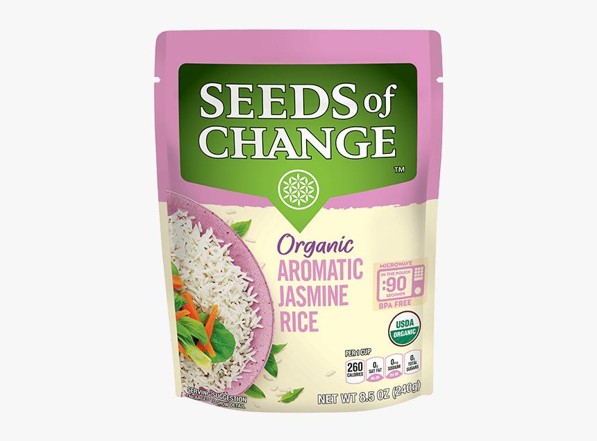 Jasmine Rice - Seeds Of Change Jasmine Rice, HD Png Download, Free Download