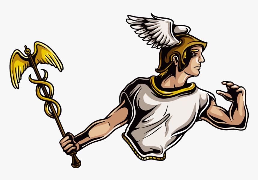 Hades Zeus Greek Mythology Twelve Olympians - Greek Olympian Gods Vector, HD Png Download, Free Download