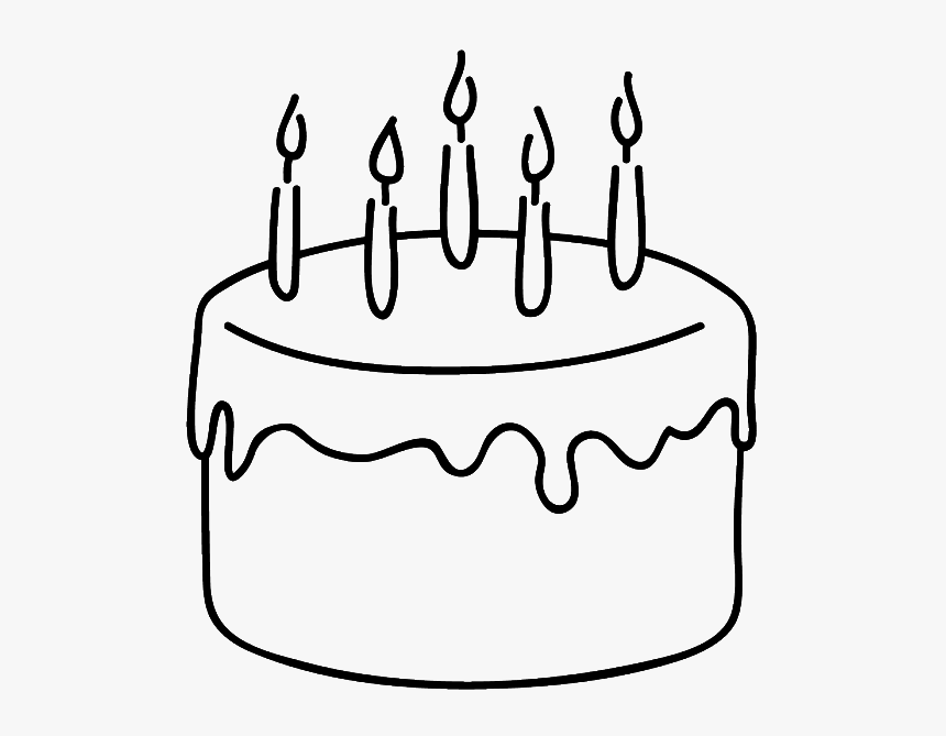 Super Birthday Cake Clipart Simple Birthday Cake Drawing Hd Png Personalised Birthday Cards Paralily Jamesorg