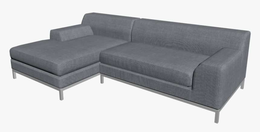 Kramfors L Form Sofa Design And Decorate Your Room - Studio Couch, HD Png Download, Free Download