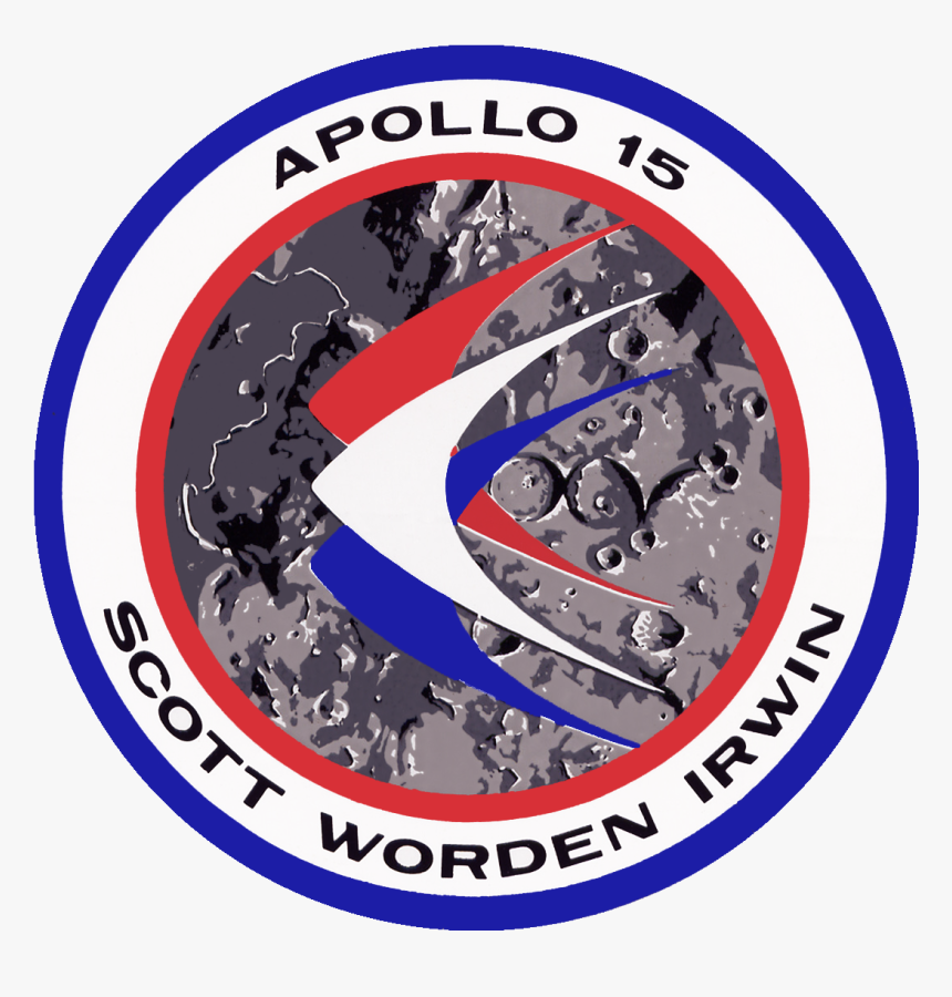 Transparent Apollo Crews Png - Apollo 15 Mission Badge, Png Download, Free Download