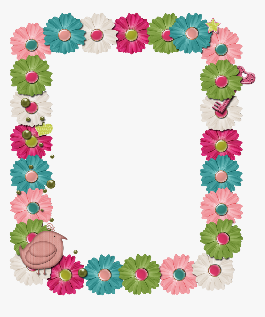 Transparent Scrapbook Frame Clipart - Printable Borders For Scrapbook, HD Png Download, Free Download