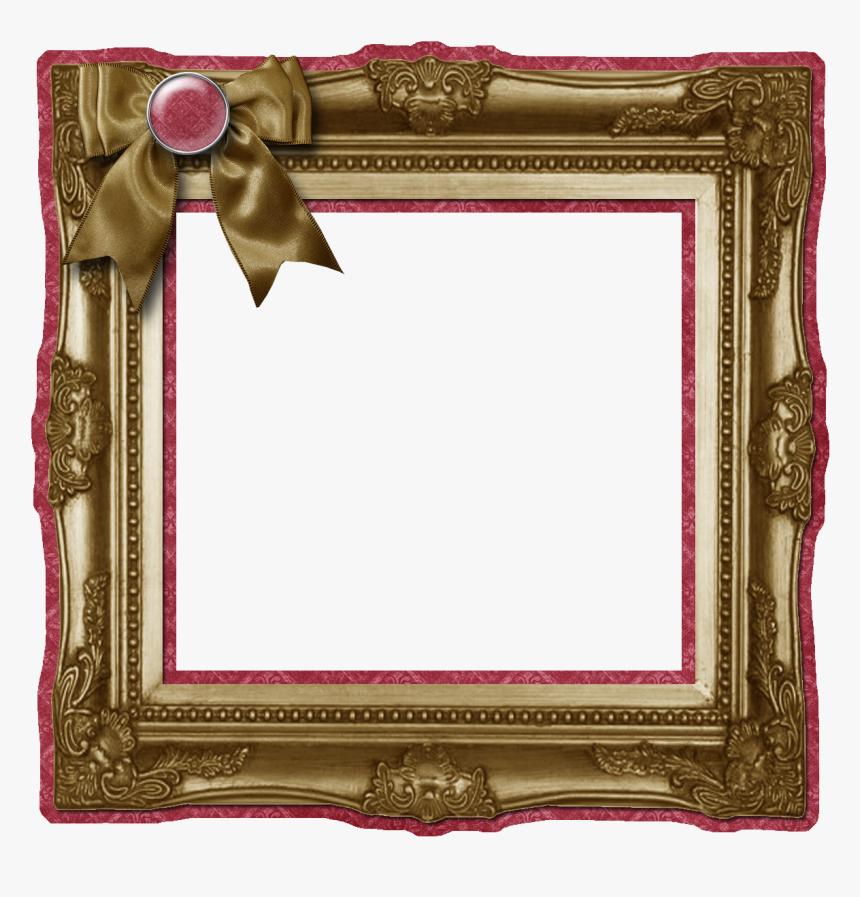 Transparent Brown Frame Png - Scrapbook Frames, Png Download, Free Download