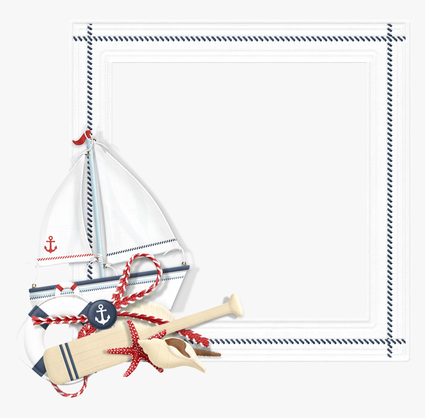 Nautical Frame Png - Nautical Frames And Borders, Transparent Png, Free Download