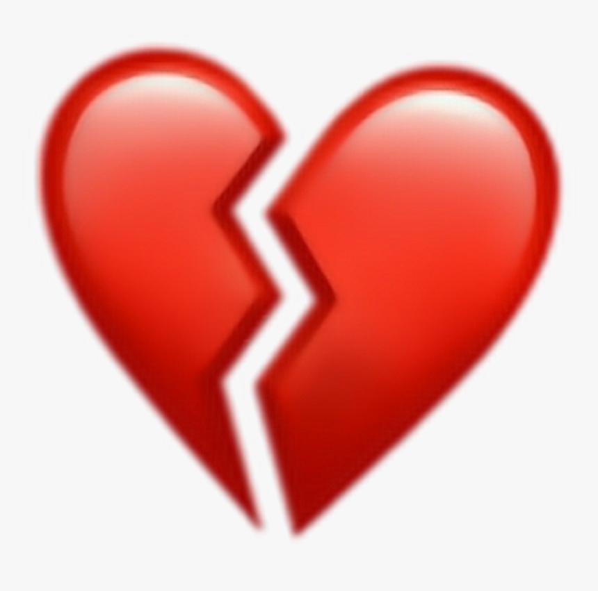 Corazon Roto Png - Broken Heart Emoji Png, Transparent Png, Free Download
