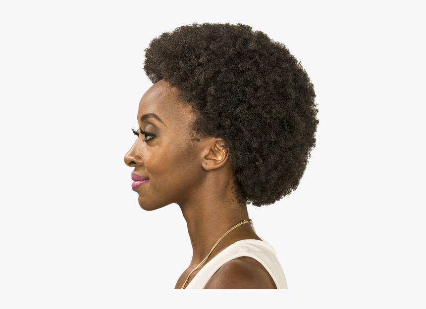 Afro Jheri Redding Jheri Curl Hair Coloring Wig - African Natural Hair Afro, HD Png Download, Free Download