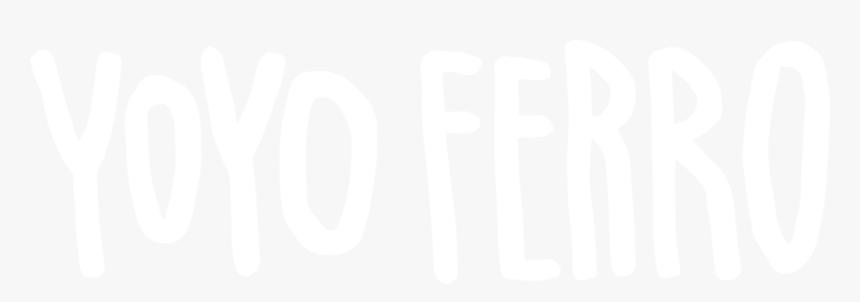 Signature Yoyo Ferro White-png, Transparent Png, Free Download