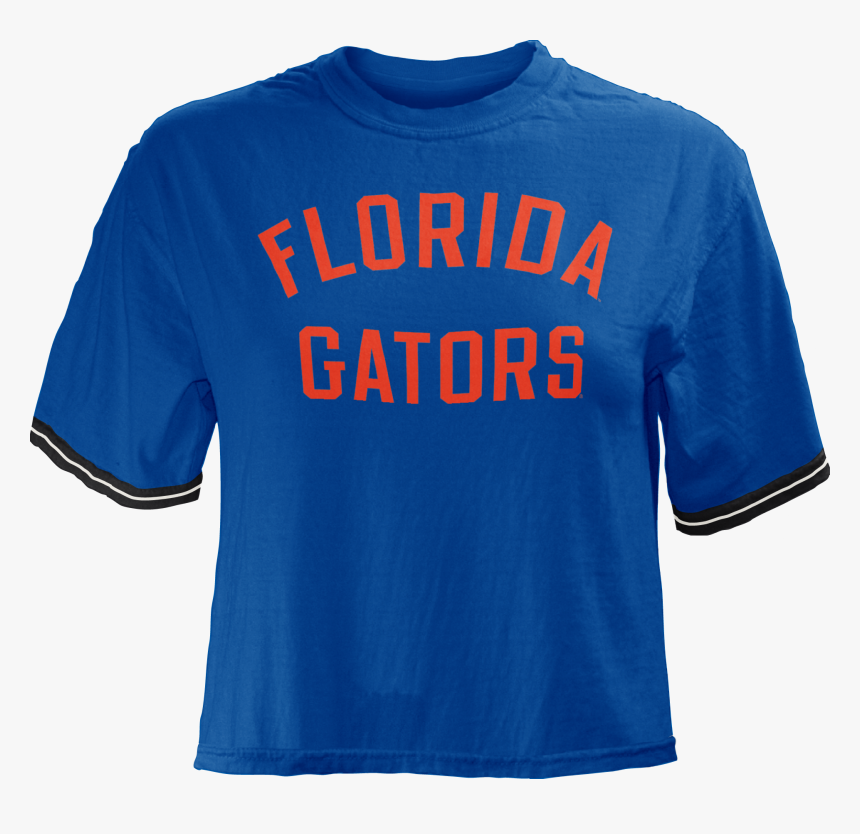 """University Of Florida Lyn Cropped Short Sleeve T Shirt""""  - Active Shirt, HD Png Download, Free Download"""