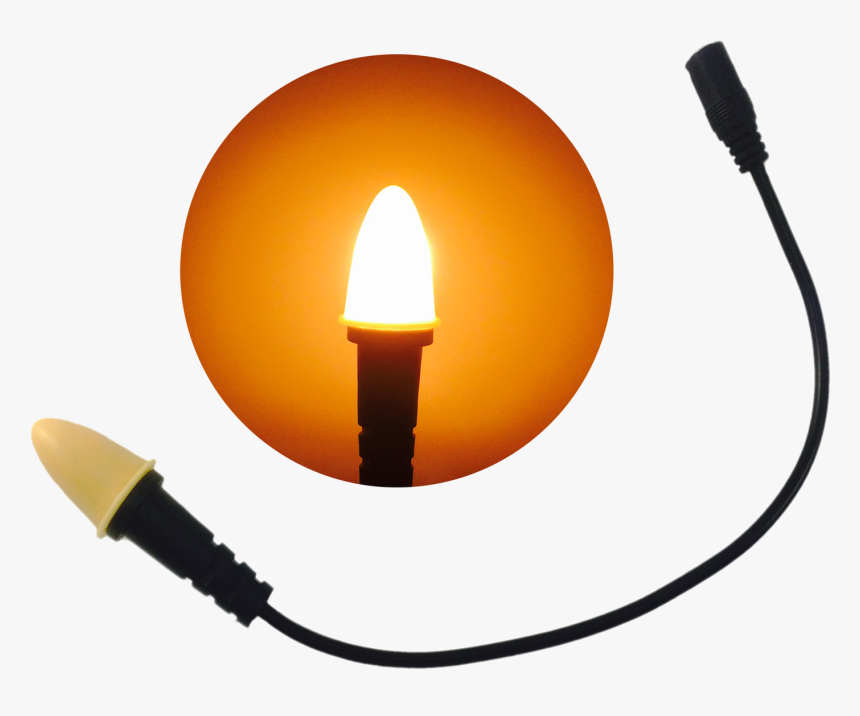 Eel Enhanced Effects Light, Cfl1 Candle Flame Light - Sconce, HD Png Download, Free Download