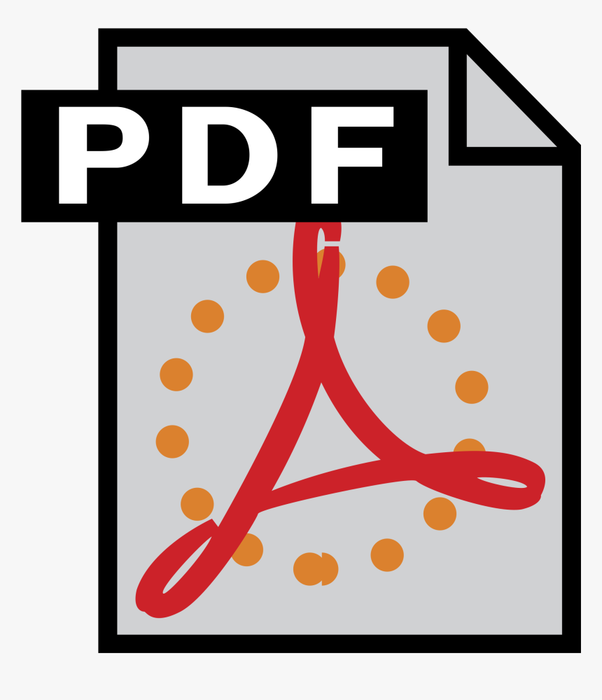Adobe Pdf Icon Svg, HD Png Download, Free Download