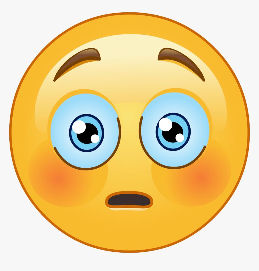 Transparent Surprised Emoji Png - Emoticon, Png Download, Free Download