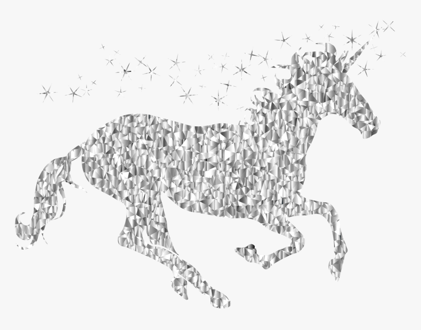 This Free Icons Png Design Of Gemstone Magical Unicorn - Clip Art, Transparent Png, Free Download