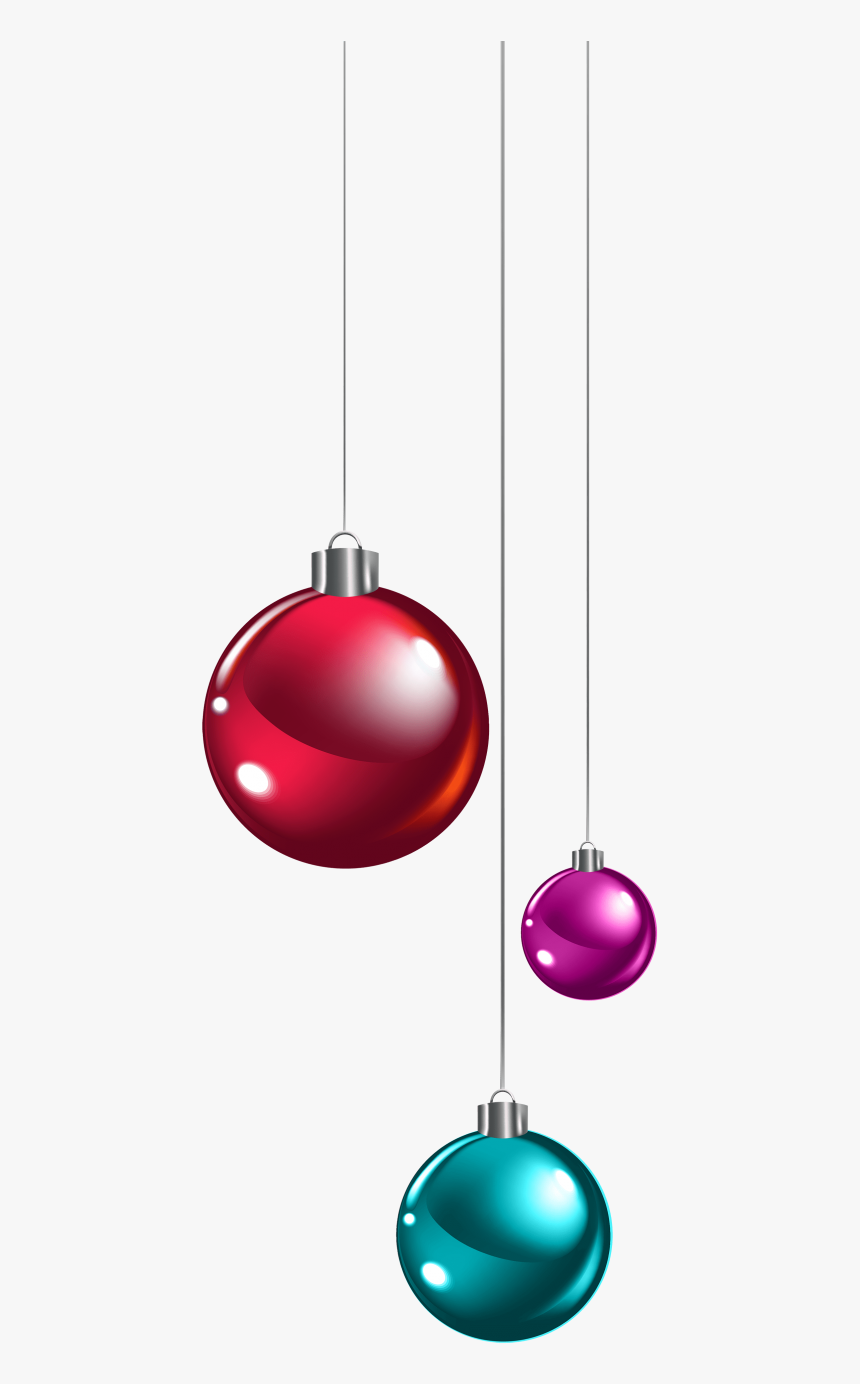 Download Hanging Christmas Balls Clipart Png Photo - Hanging Christmas Ornament Clipart, Transparent Png, Free Download
