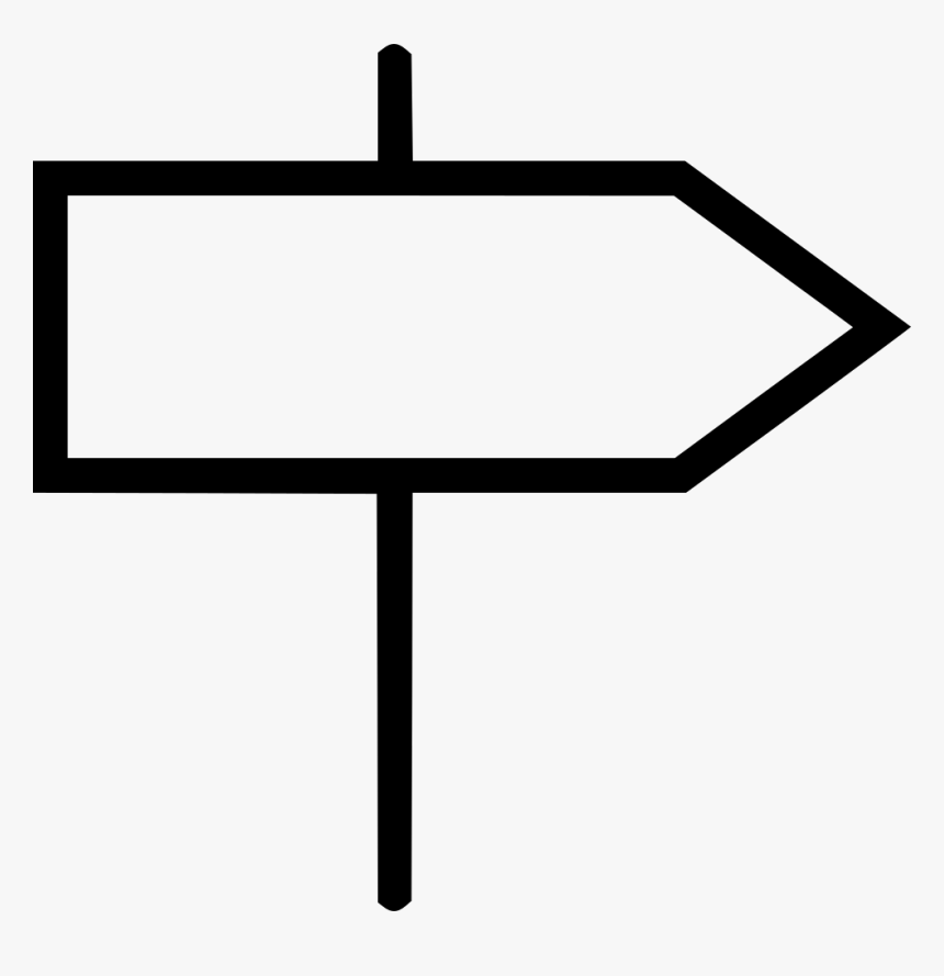 Png Direction Sign - Direction Sign Png, Transparent Png, Free Download
