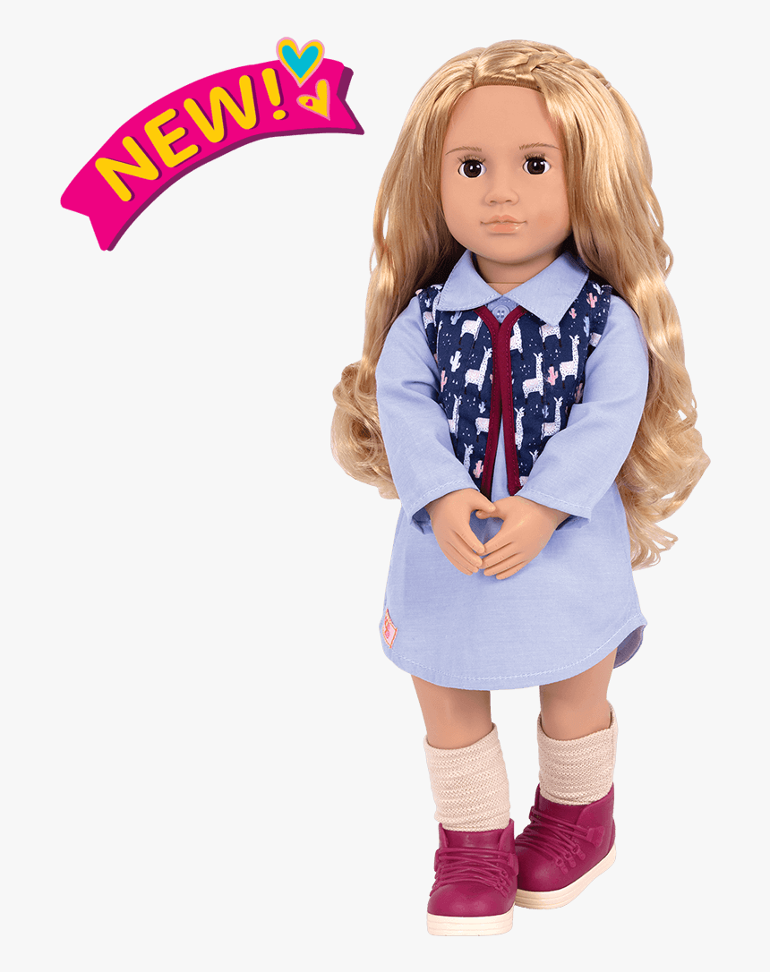 Amalia 18-inch Travel Doll - Our Generation Doll Amalia, HD Png Download, Free Download