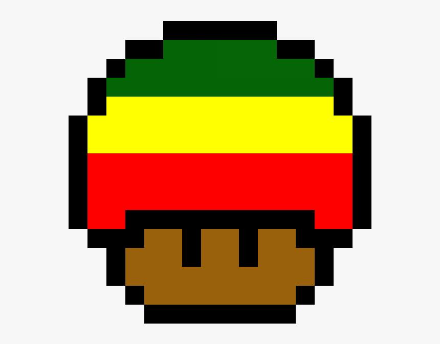 Angry Emoji Pixel Art 8 Bit Mario Mushroom Transparent Hd Png
