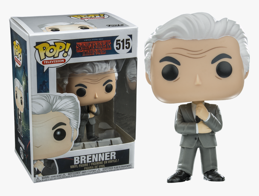 Brenner Pop Vinyl Figure - Funko Pop Stranger Things, HD Png Download, Free Download