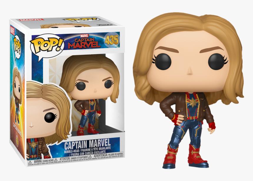 Captain Marvel - Funko Pop Marvel Captain Marvel, HD Png Download, Free Download