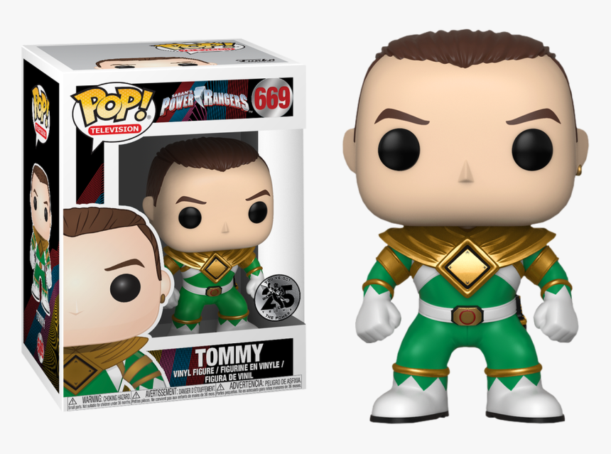 Tommy Funko Pop Power Rangers, HD Png Download, Free Download