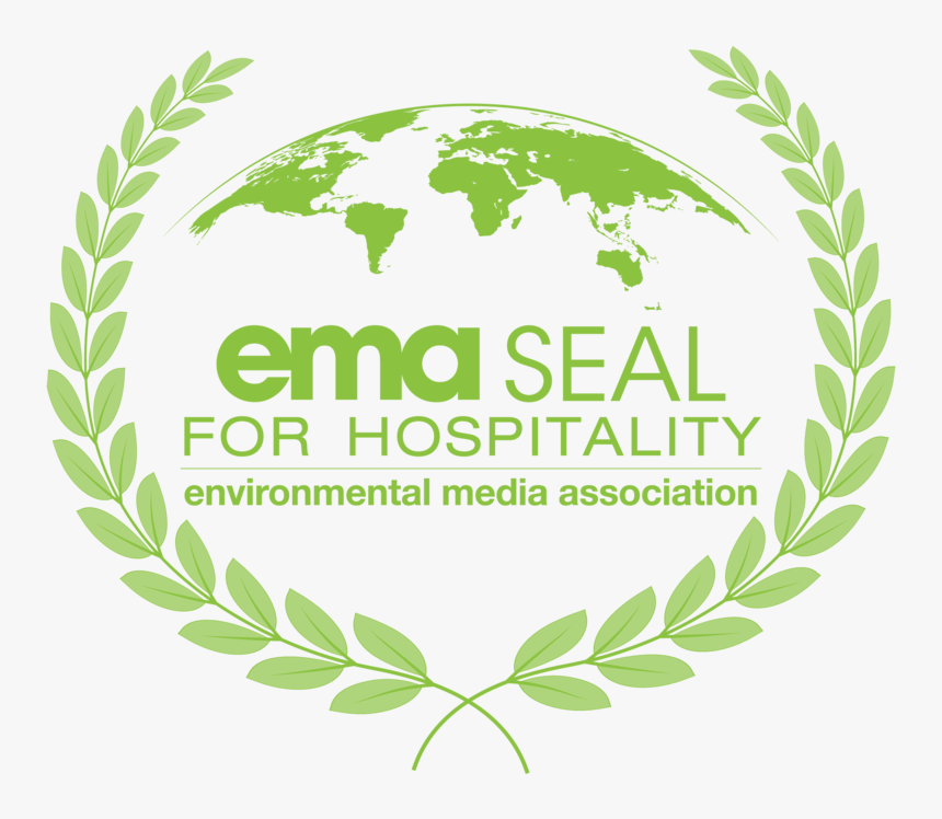 Ema Seal For Hospitality-grn - Environmental Media Association Logo, HD Png Download, Free Download