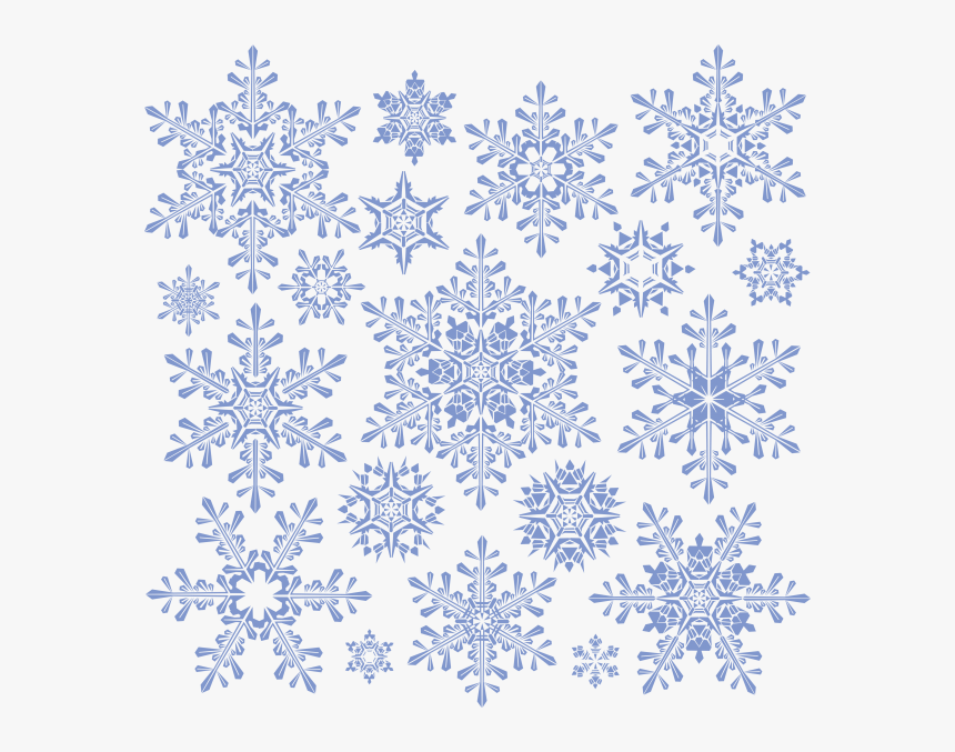 Snow Flakes Png Free Download - Snowflakes Png, Transparent Png, Free Download